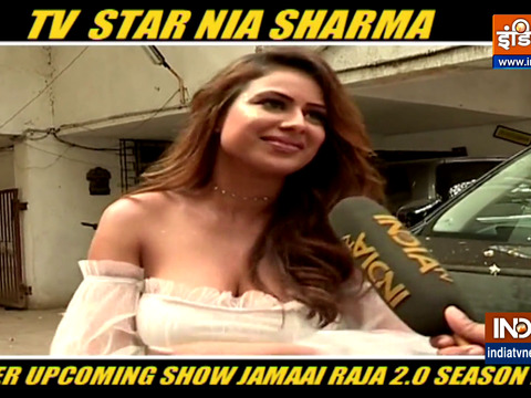 Actress Nia Sharma gets candid about her upcoming show Jamai Raja 2