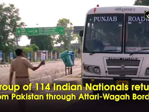 Group of 114 Indian Nationals return from Pakistan through Attari-Wagah Border