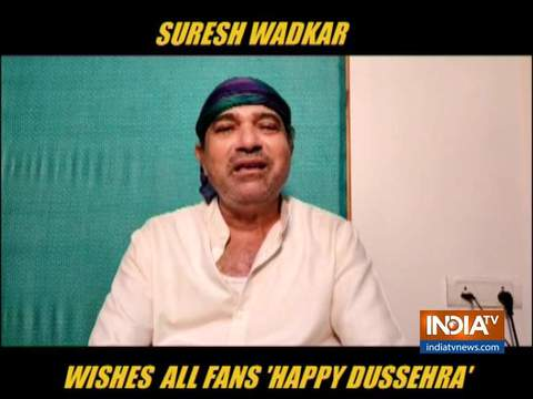 Singer Suresh Wadkar's musical Dusshera wish