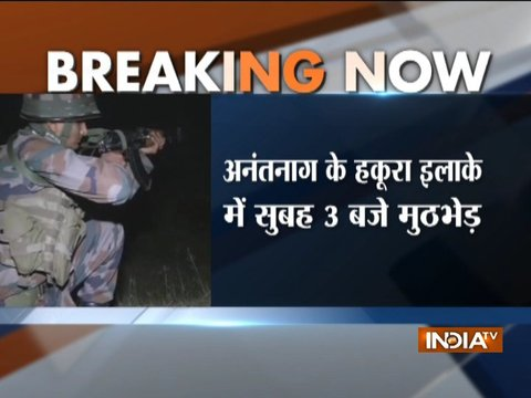 J-K: Three terrorists killed in a brief encounter with security forces in Anantnag's Hakura