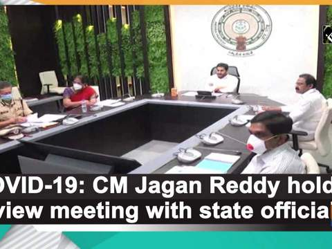 COVID-19: CM Jagan Reddy holds review meeting with state officials