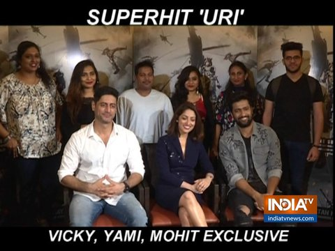 विक्की कौशल, मोहित रैना और यामी गौतम ने इंडिया टीवी से की खास बात