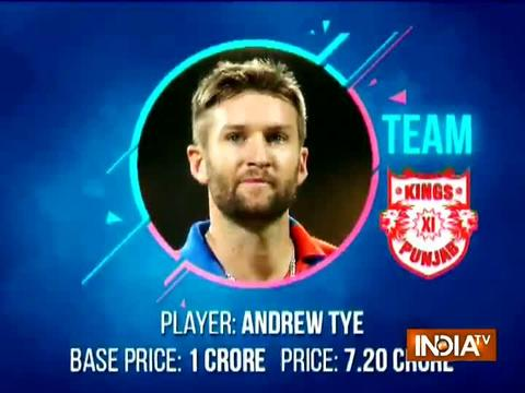 IPL 2018 Auction: Jaydev Unadkat, Andrew Tye bag million dollar deals on day two