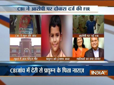 Gurugram Ryan School: CBI starts probe in Pradyuman Murder Case