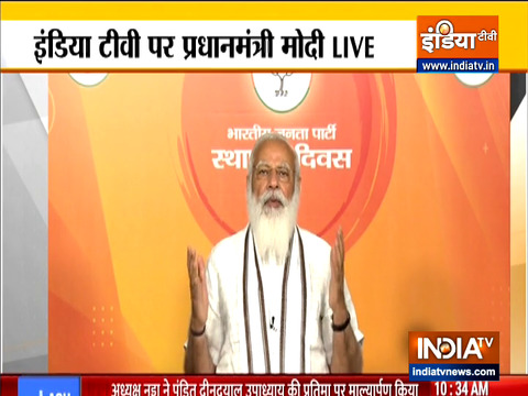 BJP is not 'poll winning machine', but a movement that connects with people: PM Modi