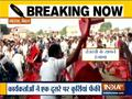 Scuffle breaks out between RJD workers at Tejaswai yadev's rally in Saharsa