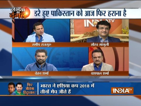 India vs Pakistan, Asia Cup 2018: Pakistan's chances look bleak against India, reckons Sourav Ganguly
