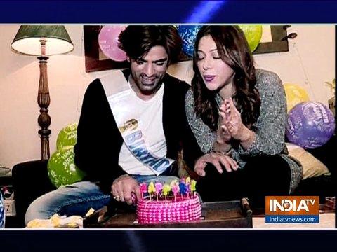 Kullfi Kumarr Bajewala star Mohit Malik celebrates birthday with family and friends