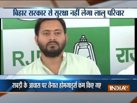 Tejashwi Yadav hits out at Nitish Kumar, says he is the most namby-pamby CM of the country
