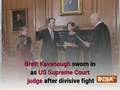 Brett Kavanaugh sworn in as US SC judge after divisive fight