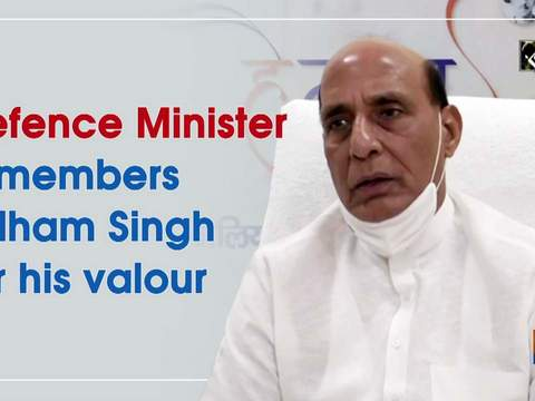 Defence Minister remembers Udham Singh for his valour