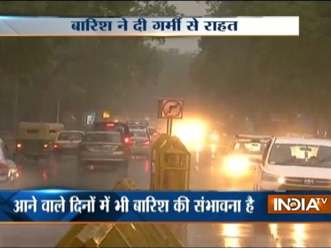 Rains continue to lash Delhi-NCR for second day