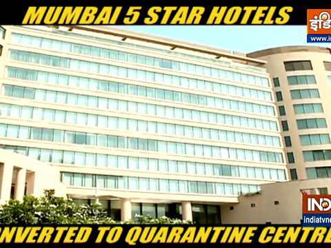 Mumbai 5-star hotels are being turned into COVID care facilities