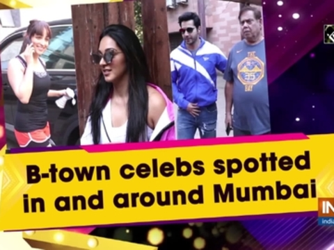 B-town celebs spotted in and around Mumbai