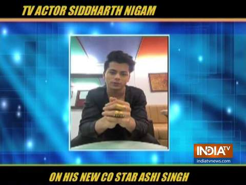 What Siddharth Nigam said about his new co-star Ashi Singh