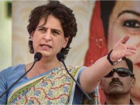 Priyanka Gandhi told to vacate govt bungalow within one month