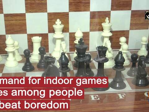 Demand for indoor games rises among people to beat boredom