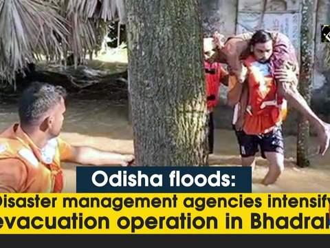 Odisha floods: Disaster management agencies intensify evacuation operation in Bhadrak
