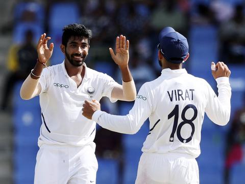 India vs West Indies: पहले टेस्ट मैच में टीम इंडिया ने वेस्टइंडीज को 318 रनों से रौंदा