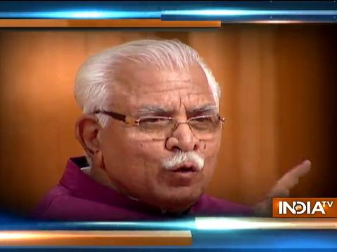 Aap Ki Adalat: For me country is more important then anyone, says Haryana CM Khattar