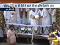 Former PM Vajpayee's ashes immersed in River Ganges at Haridwar