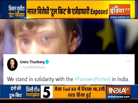 FIR lodged against Environmental activist Greta Thunberg in Delhi