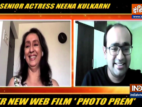 Actress Neena Kulkarni on Photo Prem