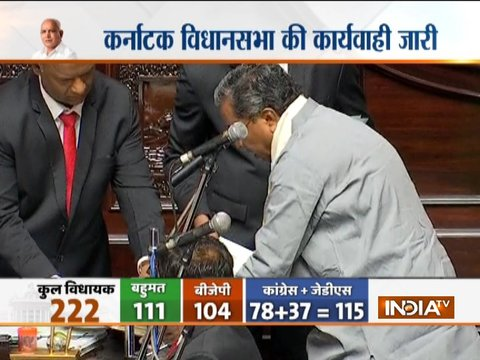 Karnataka: BSY, Siddaramaiah take oath as MLAs