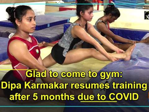 Glad to come to gym: Dipa Karmakar resumes training after 5 months due to COVID