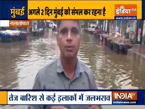 Mumbai Rains: Heavy rain, water-logging disrupt life.. watch ground report