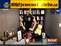 Celebrity fitness trainer Sapna Vyas teaches simple exercises to do at home