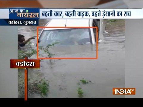 Incessant rainfall creates flood-like situation in Delhi, Uttarakhand, Maharashtra and Gujarat