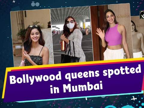 Bollywood queens spotted in Mumbai