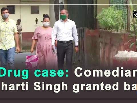 Drug case: Comedian Bharti Singh granted bail