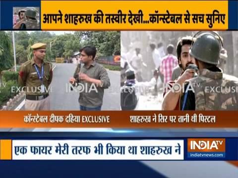 हेड कांस्टेबल दीपक दहिया ने इंडिया टीवी को बताया क्या हुआ था जाफराबाद हिंसा के दिन