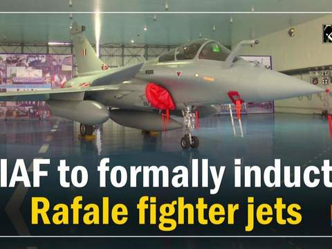 IAF to formally induct Rafale fighter jets