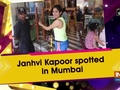Janhvi Kapoor spotted in Mumbai