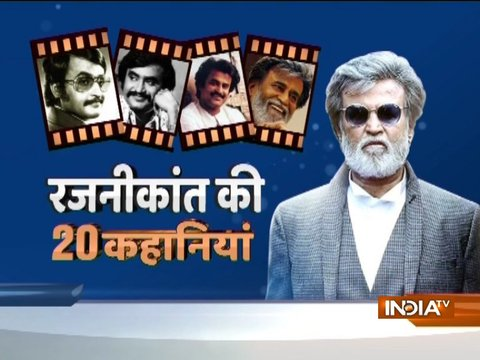 From Bus Conductor to Silver Screen star, Watch 20 stories that made Rajinikanth real superhero