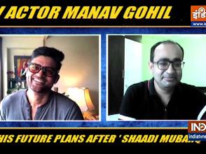 TV actor Manav Gohil on his future plans after 'Shaadi Mubaraq'