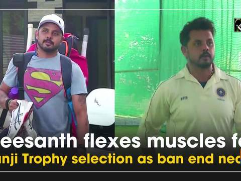 Sreesanth flexes muscles for Ranji Trophy selection as ban end nears