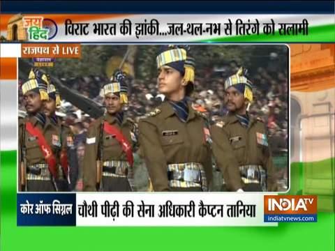 राजपथ पर गणतंत्र दिवस की परेड; राष्ट्रपति, प्रधानमंत्री और अन्य शीर्ष नेताओं ने कार्यक्रम में भाग लिया