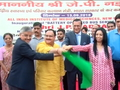 India TV CSR Initiative: Free shuttles service launched at AIIMS by Health Minister JP Nadda