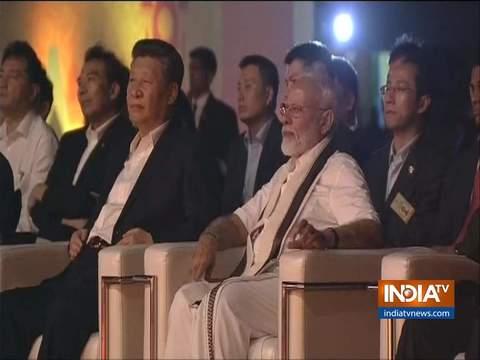 पीएम मोदी-शी जिनपिंग ने प्रसिद्ध शोर मंदिर के सांस्कृतिक कार्यक्रम में शिरकत की