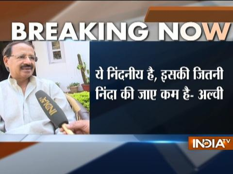 IndiaTV Sting: Congress leader Rashid Alvi demands strict action against exporter of illegal beef