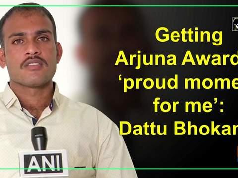 Getting Arjuna Award is 'proud moment for me': Dattu Bhokanal
