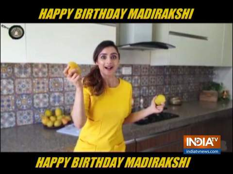 Actress Madirakshi Mundle celebrates her birthday