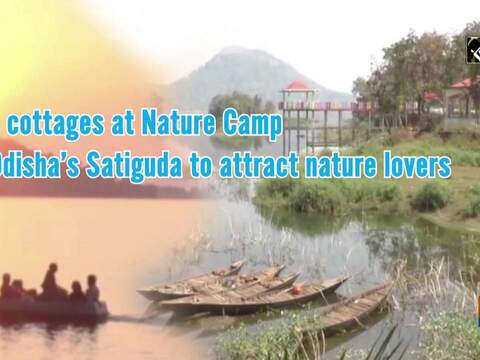 Eco cottages at Nature Camp in Odisha's Satiguda to attract nature lovers