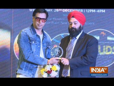 Madhur Bhandarkar, Archana Puran Singh and Shravan Kumar in Delhi Talent Hunt Launch