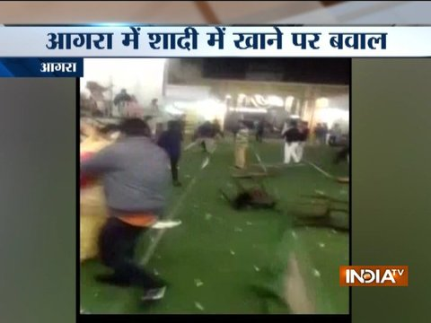 Scuffle between families of bride and groom over bad quality of food in Agra