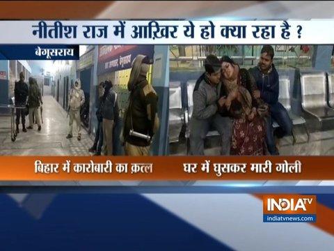 Businessman shot dead in Bihar's Begusarai